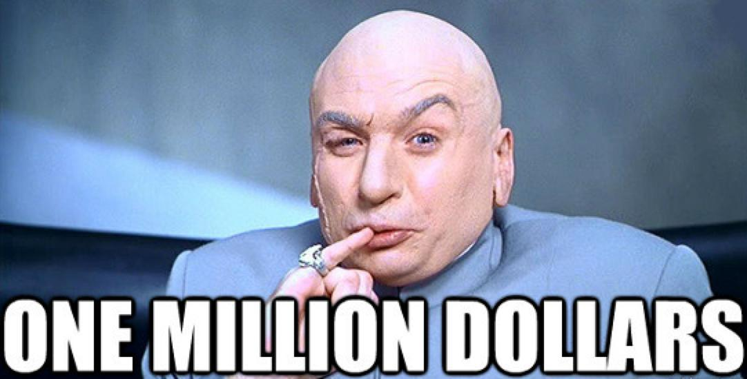0    1 000 000 in 3 Years $1,000,000